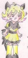 Pichu Gijinka Girl Adoptable [CLOSED] by CaramelCreampuff