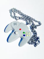 N64 Controller Pendant by CharmingDulce