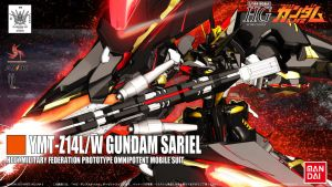 HG REVAMP 5OF6 GUNDAM  SARIEL by masarebelth