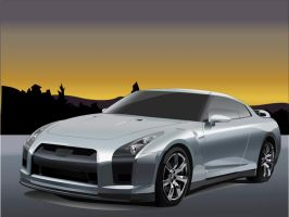 Nissan GTR Proto by Illusionator