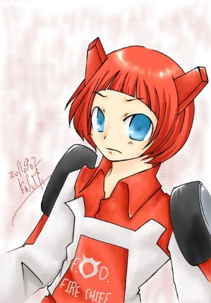 Red Alert humanized