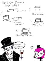 How To Draw A Top Hat by KaylaKakashi