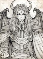 Thanatos (Pencil Version) by CHIBI-96