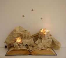 Altered book by Tiaso