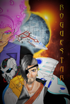 My Space Opera Poster of the RogueStar by sealotsgirl