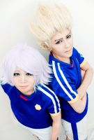 Inazuma 11 - Fire and Blizzard by lonehorizon