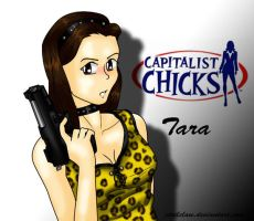 Gun Babe Capitalist by SteelClaw