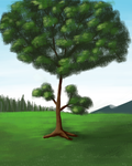 Silly Tree #2 by Chukkz
