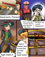 on the railway comic commission 32 by hikariangelove