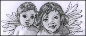 _Tiny_Cherubs_ by MegerisAzarael