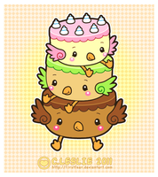 Vector - Cheep Cakes by firstfear
