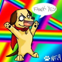 FAWK YES by Lucky-Puppy