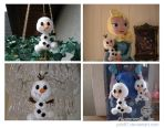 Commission: Baby-Olaf from Frozen by Yuki87