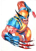 WOLVE-Wolverine by oblivionpark