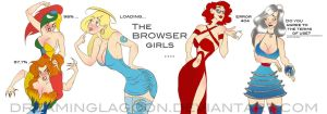If web browsers were girls... by dreaminglagoon