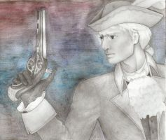 England flintlock by Rosannah