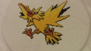 X-Stitch - Zapdos by thirteendaze