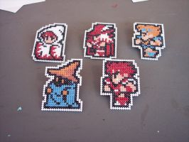 Final Fantasy cross-stitch by HopperARTZ
