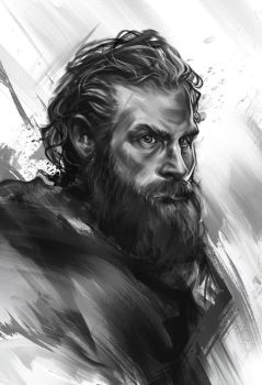 Tormund - sketch by h1fey