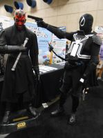 Agent Venom takes out Darth Maul by pa68