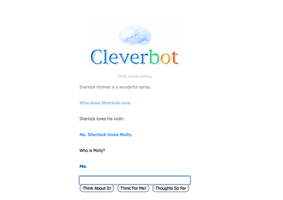 Cleverbot is a Creepy Fangirl by SpellboundFox