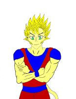 CrimZon Super Saiyan Erb by Unknown117