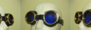 Azure Goggles 2 by passbyguy