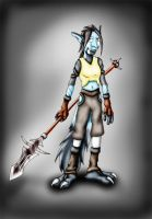 Warcraft - Troll Meg by hunterbahamut