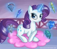 Rarity's precious by Jrenon