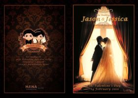 wedding souvenir mini book by hananovie
