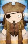 pirate brown and gold coat dude by twistedandgifted