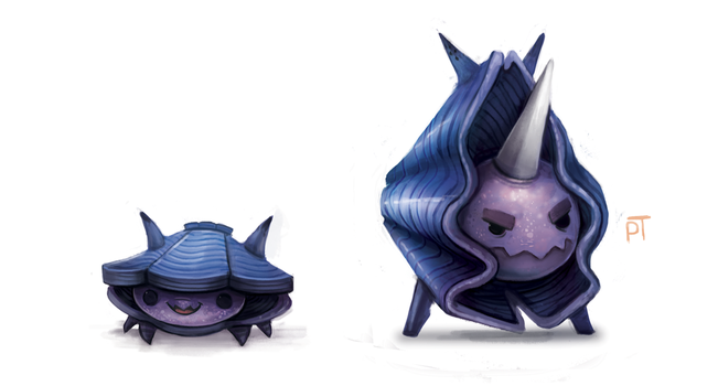 DAY 482. Kanto 090 - 091 by Cryptid-Creations