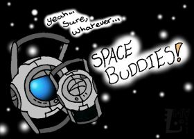 Portal2: Buddies by SpontaneousFork