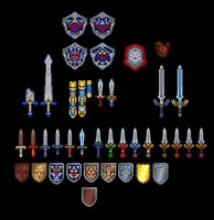 Legend of Zelda Weapon Collection by TheKCroxas