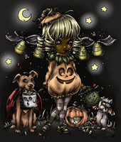 Halloween Coloring Contest 2014 - The Second by CaptainMetal