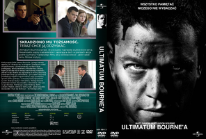 Boutne Ultimatum DVD cover by gandiusz
