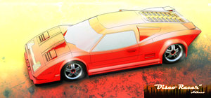 Disco Racer fancy alternative by aconnoll