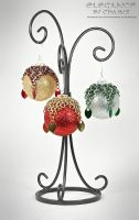 Holiday Ornaments Version 2 by EleganceinChains