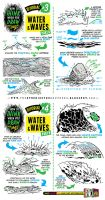 How to draw WATER WAVES SEA SPLASHES tutorial by STUDIOBLINKTWICE
