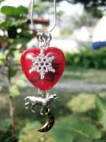 Cale/Anubisu Charm Necklace by Warlord-of-Noodles