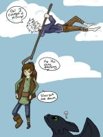 Caught Hiccup by NedlyDeadly