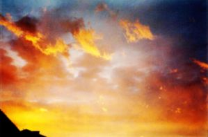 Fire in the sky by Creativeness