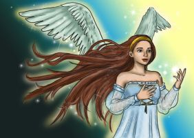 Ange - Angel by Luckytrefle