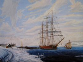 Winters Harbor by John-Tansey