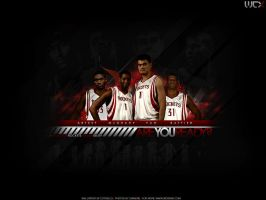 Houston Rockets 08-09 by Cotovelo