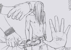 He and his hands by Hawk-619