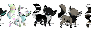 Adopts (all taken) by XxAdoptxX