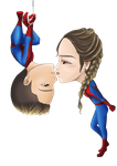 Spidey Couple Chibi by choyuki