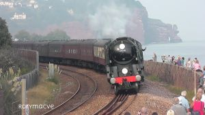 SR 34046 and 5029 at Teignmouth by The-Transport-Guild