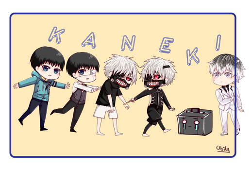 Haise is Kaneki by Obily